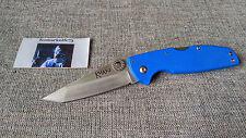 Couteau Cold Steel Khan Blue Tanto Lame Acier AUS-8 Manche G-10 Tri Ad-L CS54T