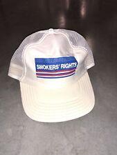 Vintage Camel Marlboro Smokers' Rights Hat  Cap Snapback Adjustable