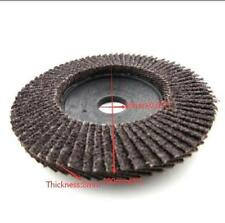 "1x 100mm 4"" 320 Grit Angle Flap Disc Grinder Sanding Wheel 16mm Hole Rotary Tool"