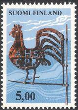 Finlandia 1976 arti tradizionali/artigianato/banderuola/gallo/galletto 1v (n13607g)