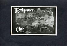 Postcard - C1945 Multiviews Of The Montgomery N.A.A.F.I. / E.F.I. Club, Brussels