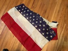Stars Vintage Red White Blue American Flag Bunting WWI Patriotic Antique