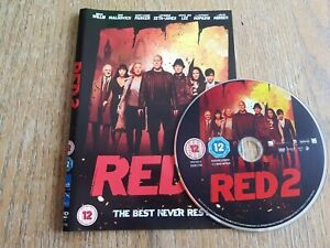Red 2 (DVD, 2013) * DISC AND COVER ONLY *