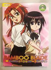 DVD ANIME Bamboo Blade Vol.1-26 End English Subs Region All + FREE DVD