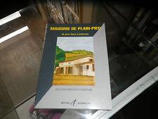 Maisons de plain-pied, 60 plans libres d'utilisation, Michel Matana