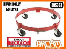 TOLEDO 305383 - DRUM DOLLY - 60 LITRE - EXTRA HEAVY DUTY STEEL POWDER COATED