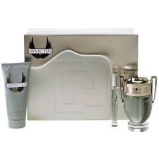 Paco Rabanne Invictus Gift Set 100ml Eau de Toilette Inc lavado de cuerpo + 10ml EDT