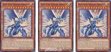 3 x Blue-Eyes Shining Dragon - DPRP-EN026 - Common 1st Edition