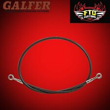 OHA Stainless Braided Front Brake Line Kit for Yamaha FZR1000 RU EXUP 1991-1994