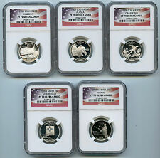 2008 S 5 Silver State Quarter NGC PF70 Graded UCAM Proof Coin 25 Cent Set
