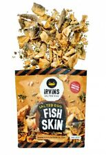 IRVINS Salted Egg Fish Skin 230g Crunchy Chips Crisps Singapore Large Bag SEALED