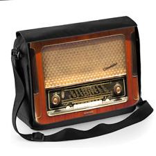 Vintage Wireless Radio  -Unisex Messenger Shoulder Bag