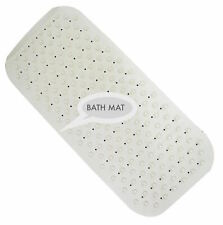 Extra Long Soft Rubber Grip Strong Suction Non-Slip Anti Fall Bath Shower Mat