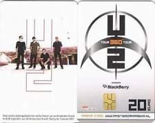 Arenakaart A107-01 20 euro: U2