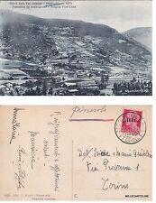 # MENTOULLES: PANORAMA DA MEZZOGIORNO E BORGATA VILLE CLOZE  1936