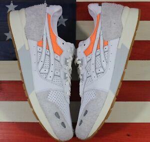 Asics Gel Lyte OG Running shoes Grey/Gum/Orange/White [H80NK-0101] Men's 11.5 D