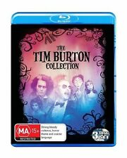Tim Burton 3 Blu Ray DVD as Beetlejuice Sweeney Todd Corpse Bride Region B
