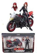 [Toys Hero] In Hand Marvel Legends Black Widow on Motorcycle Bike Avengers 6""