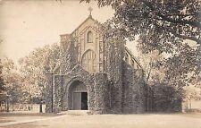 Highland Park Illinois Trinity Episcopal Church Real Photo Antique PC (J38436)
