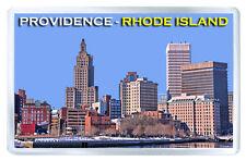PROVIDENCE RHODE ISLAND USA FRIDGE MAGNET SOUVENIR IMAN NEVERA
