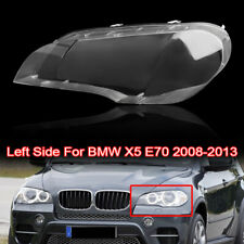 Auto Headlight Clear Lens Cover Clear Lamp Cover For BMW X5 E70 08-13 Left Side