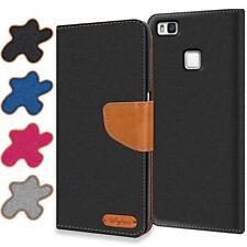 Handy Hülle für Huawei P9 Lite Tasche Wallet Flip Case Schutz Hülle Cover