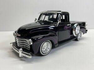 Jada Toys 1:24 Scale 1953 Chevrolet 3100 Pickup Street Low  Loose Clean Diecast