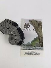 New Evolv brand Chalkbag Belt Gray/Black