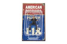"Biker Bull Dog American Diorama 1:18 Scale Figurine 4"" Man Guy Male Figure"