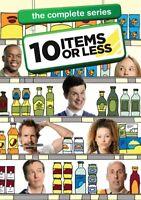 10 ITEMS OR LESS COMPLETE SERIES New Sealed 3 DVD Set Seasons 1-3 Season 1 2 3
