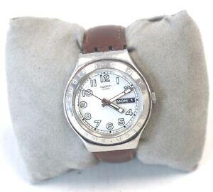 SWATCH Swiss Irony Day/Date Quartz Wristwatch Spares/Repairs - C22