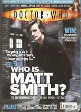*DOCTOR WHO MONTHLY # 405 - WHO IS MATT SMITH? - THE NEW DOCTOR IS UNVEILED [NR]