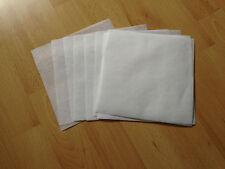 Madeira White 40g Tear Away Embroidery Stabiliser Backing 18cm x 18cm -10 sheets