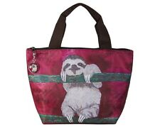 Sloth Lunch Bag Tote by Salvador Kitti - Support Wildlife Conservation, Read