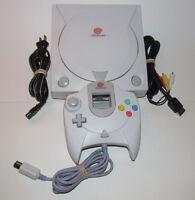 Sega Dreamcast Console System Bundle HKT-3020 *NEW CLOCK BATTERY*  Fast Shipping