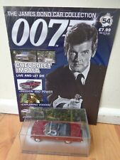 1/43 JAMES BOND 007 CAR COLLECTION - CHEVROLET IMPALA LIVE AND LET DIE #54
