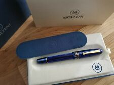 MOLTENI PEN MODELO 54 CELESTIAL BLUE LT ED FOUNTAIN PEN