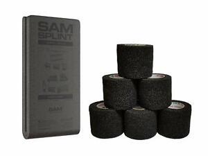 "SAM® SPLINT - ORIGINAL 36"" FLAT Black/Gray W/ COFLEX WRAPS KIT"