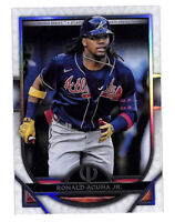 2021 Topps Tribute #49 Ronald Acuna Jr base card Braves