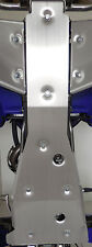 YAMAHA YFZ450 ENGINE FRAME SKID PLATE GLIDE-FITS ALL NON EFI MODELS .125 Thick