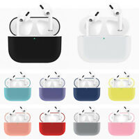 For AirPod Pro Silicone Case Protective Cover Skin Wireless Earphone Case Cover