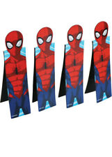 Spider-Man Party Favours Bookmarks Pk4