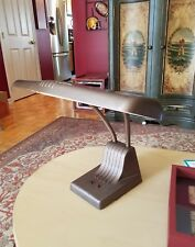 Vintage Tanker Desk Gooseneck Industrial Steampunk Lamp Dazor Manufacturing
