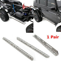 1 Par KYX Metal Side Step Guard Board Para Traxxas TRX-6 Benz 6×6 RC Crawler Car