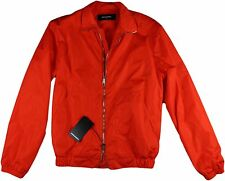 DSQUARED2 MEN'S ORANGE SPORTS JACKET/ WINDBREAKER/ RAINCOAT-50/40-MADE IN ITALY