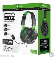 Turtle Beach Ear Force Recon 50X Cuffie per Xbox One & S Nuovo in Scatola Gioco