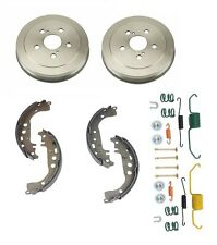 Toyota Celica 1999- 2005 GT; 1.8L; 1ZZFE Rear Brake Drums + Shoes + Hardware Kit