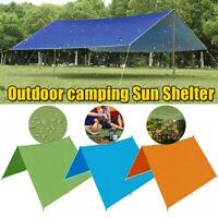 Nylon Tent Tarp Sun Shade Rain Shelter Beach Waterproof Camping Picnic Pad Mat