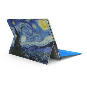 Starry Night Skin Sticker Wrap to Cover Surface Pro Back + Sides Australian Made