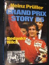 Peters' Book Grand Prix Story 85 Bedankt Niki Heinz Prüller (Nederlands)